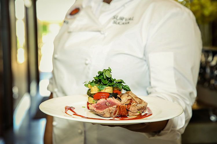 Fine dining at Su Casa Restaurant