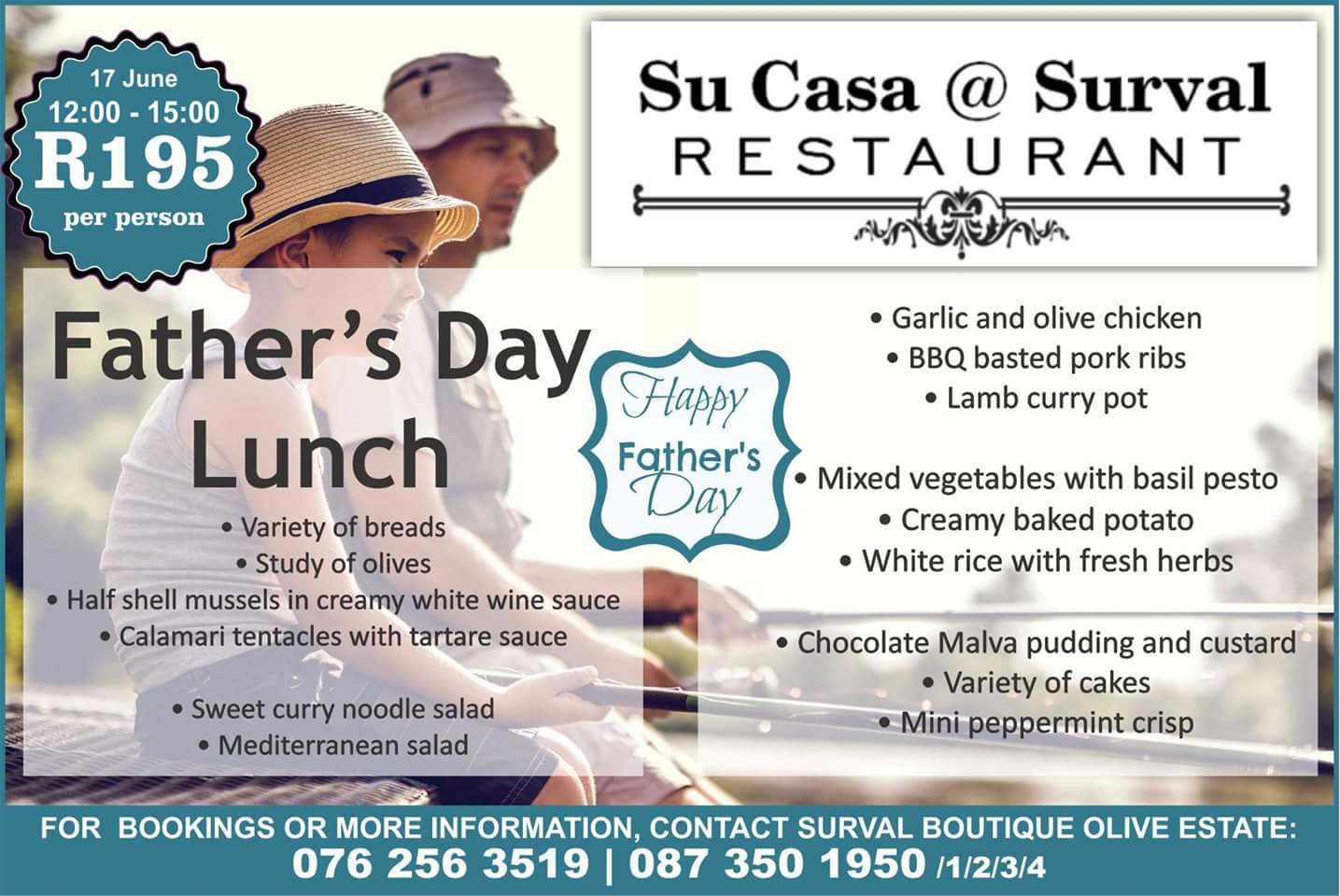 Father's Day at Surval Boutique Olive Estate