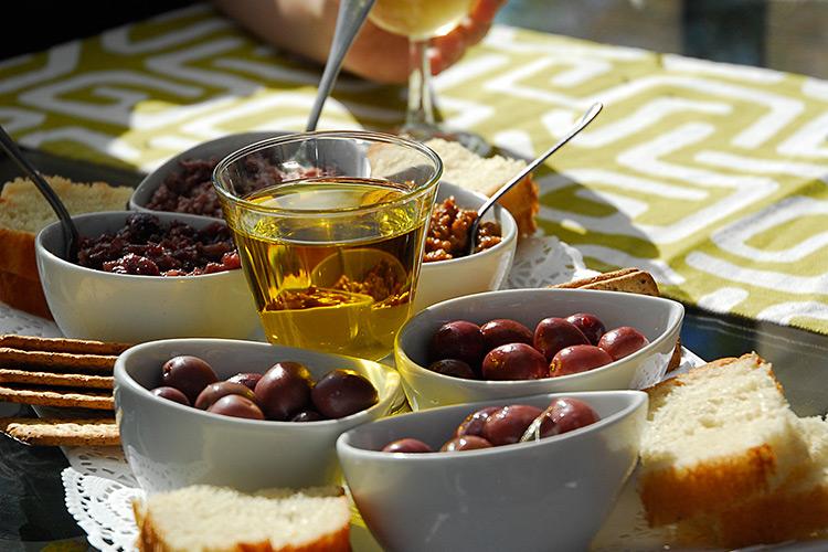 Olive tasting at Surval Boutique Olive Estate
