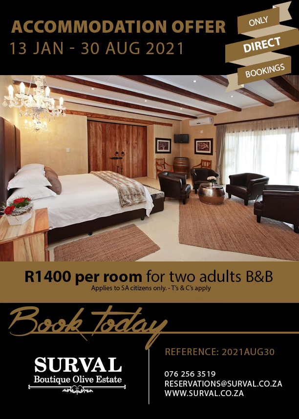 Oudtshoorn Accommodation Special